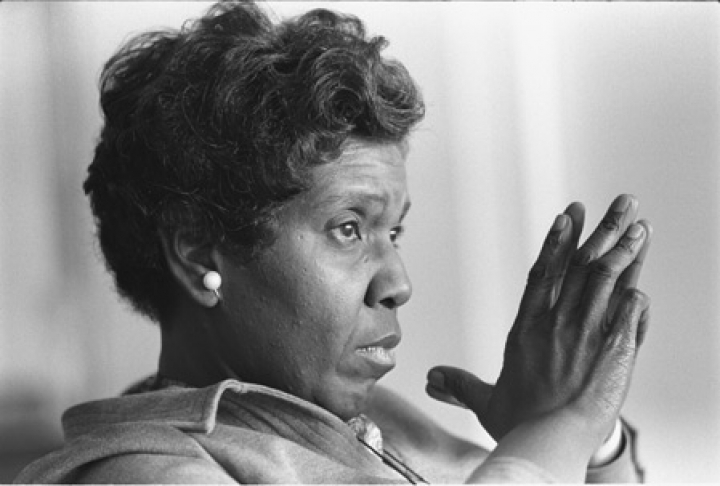 Former Texas Congresswoman Barbara Jordan